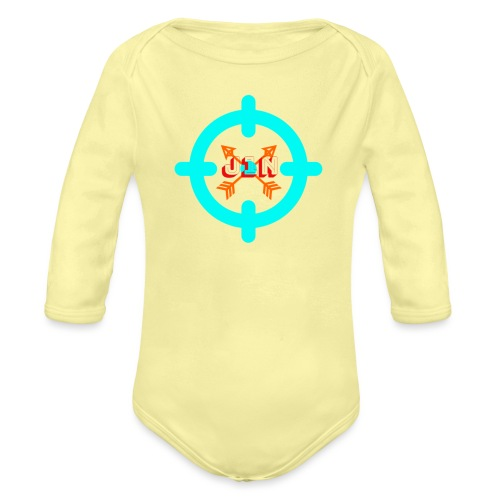 Targeted - Organic Longsleeve Baby Bodysuit