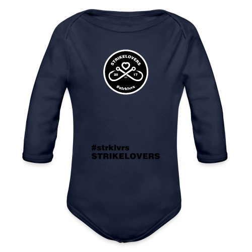 StrikeLovers Circle - Baby Bio-Langarm-Body