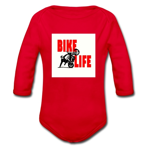 KEEP IT BIKELIFE - Organic Longsleeve Baby Bodysuit
