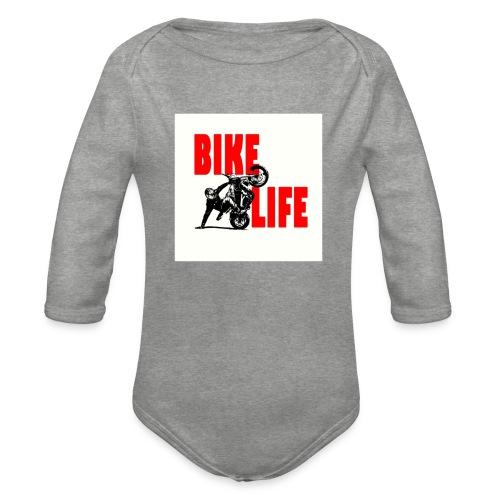 KEEP IT BIKELIFE - Organic Longsleeve Baby Bodysuit