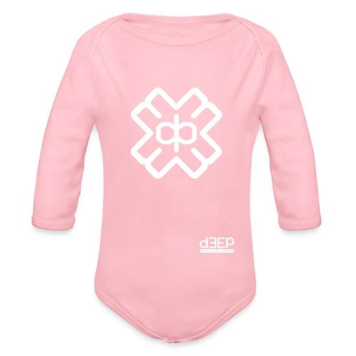 July D3EP Blue Tee - Organic Longsleeve Baby Bodysuit