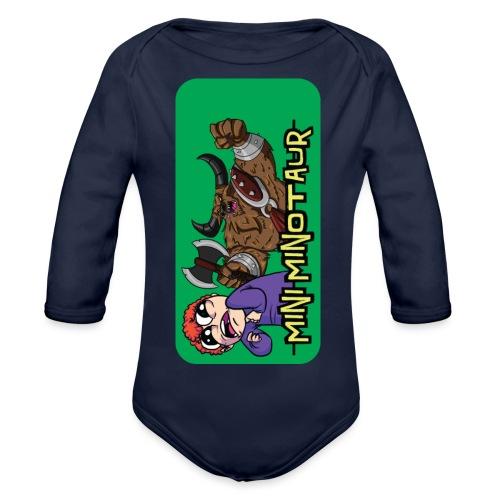 iphone 44s01 - Organic Longsleeve Baby Bodysuit