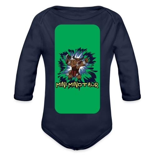 iphone 44s02 - Organic Longsleeve Baby Bodysuit
