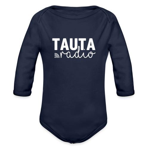 Radio Tauta Logo - Organic Longsleeve Baby Bodysuit