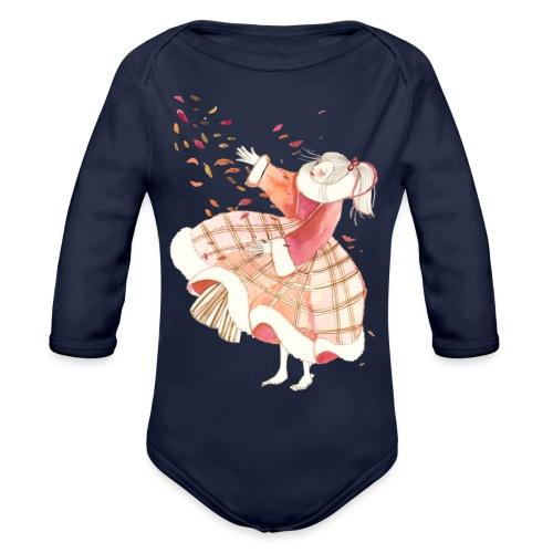 Dancing with myself - Body ecologico per neonato a manica lunga