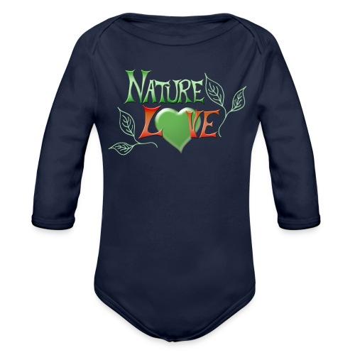 Nature Love - Baby Bio-Langarm-Body