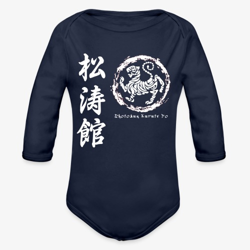 SHOTOKAN KARATE DO - Body Bébé bio manches longues