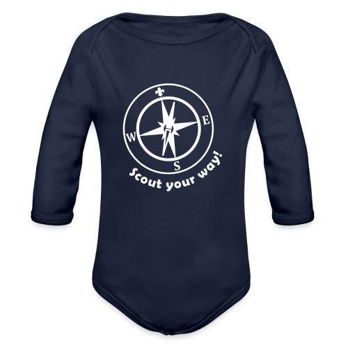 Scout your way - Organic Longsleeve Baby Bodysuit