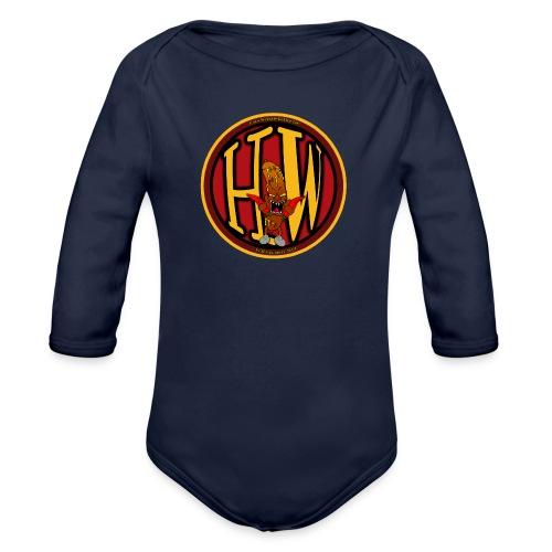superhw stikker incl worst png - Organic Longsleeve Baby Bodysuit