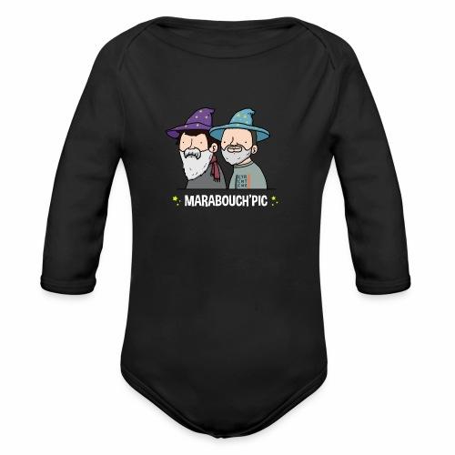 Marabouch'pic - Body Bébé bio manches longues