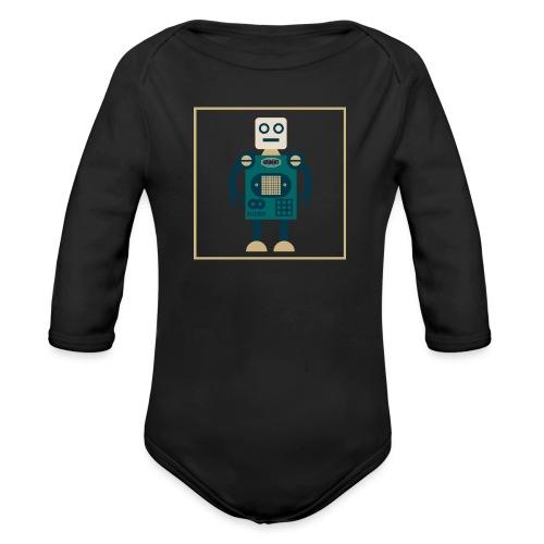 gROBOT One - Body ecologico per neonato a manica lunga