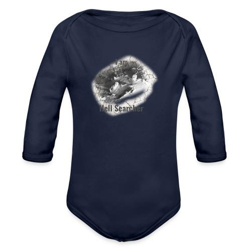 I am Hell Searcher, T-Shirt Women - Organic Longsleeve Baby Bodysuit
