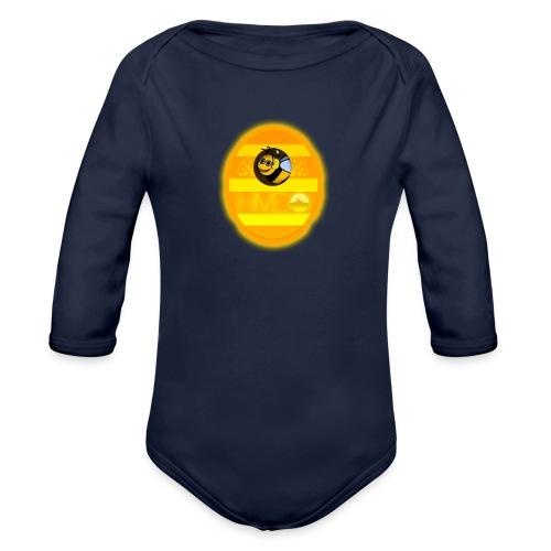 Herre T-Shirt - Med logo - Langærmet babybody, økologisk bomuld