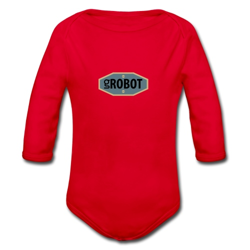gRobot Logo - Body ecologico per neonato a manica lunga