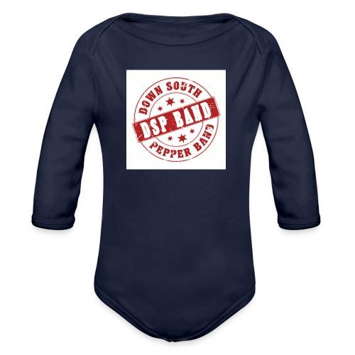 DSP band logo - Organic Longsleeve Baby Bodysuit