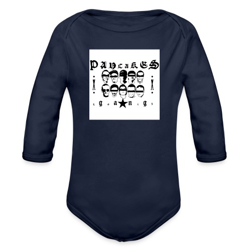 PANCAKESGANG - Ekologiczne body niemowlęce z długim rękawem