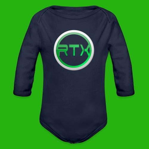 Logo SnapBack - Organic Longsleeve Baby Bodysuit