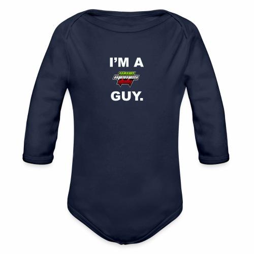I'm a WMItaly guy! - Body ecologico per neonato a manica lunga