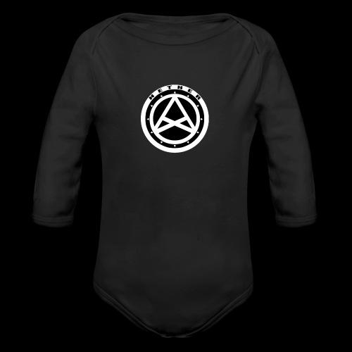 Nether Crew Black\White T-shirt - Body ecologico per neonato a manica lunga