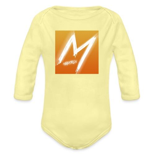 MegaTaza - Organic Longsleeve Baby Bodysuit