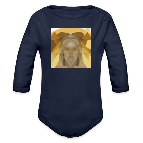 In awe of Jesus - Organic Longsleeve Baby Bodysuit