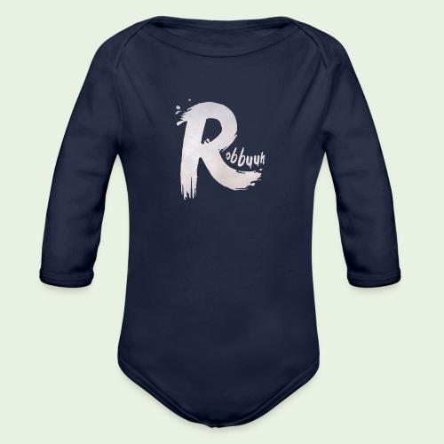 T-Shirt Robbuuh (M) - Baby bio-rompertje met lange mouwen