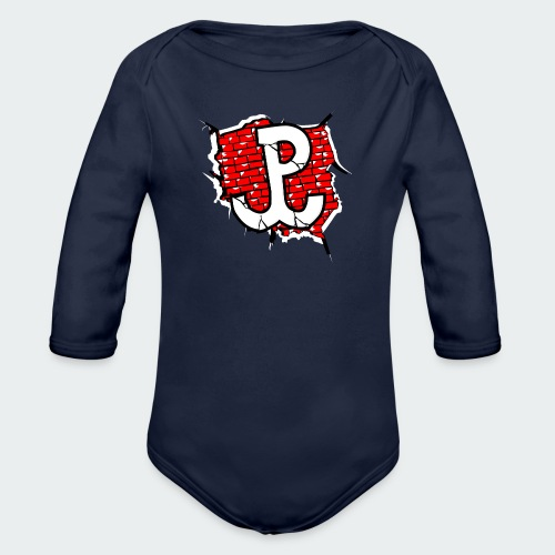 Męska Koszulka Patriotyczna Premium - Ekologiczne body niemowlęce z długim rękawem