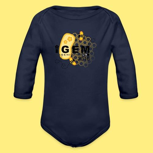 Logo - shirt men - Baby bio-rompertje met lange mouwen