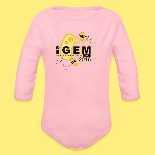 Logo - mug - Baby bio-rompertje met lange mouwen
