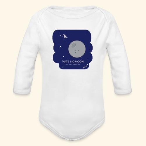 Mimas - Thats no moon - Ekologisk långärmad babybody