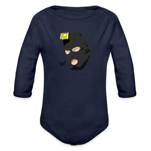 BLACK_CONDOM_SHIRT_PIC_1 - Økologisk langermet baby-body