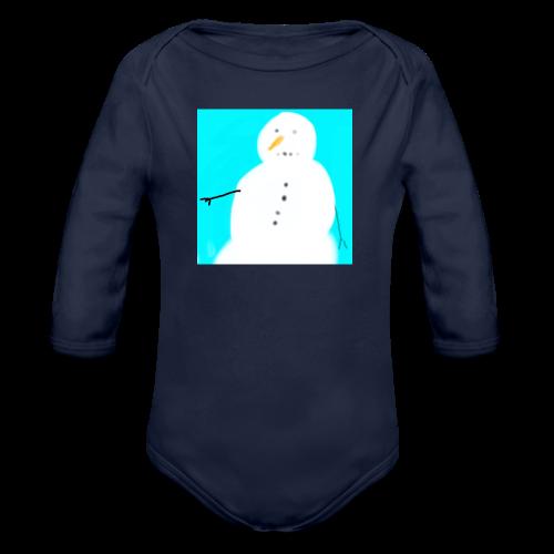Schneeherr - Baby Bio-Langarm-Body