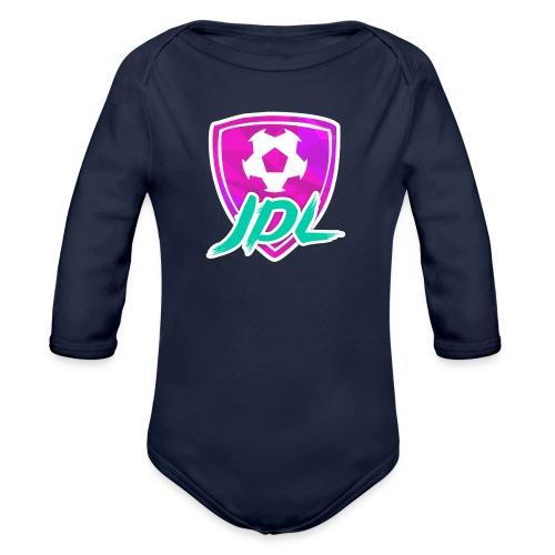 Logotipo del canal de JDL - Body orgánico de manga larga para bebé