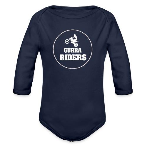 Gurrariders logotyp - Ekologisk långärmad babybody
