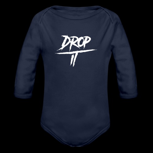 OFFICIAL ''DROP IT'' LOGO HAT - Organic Longsleeve Baby Bodysuit