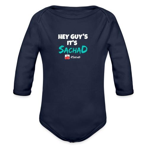 tshirt3 - Organic Longsleeve Baby Bodysuit