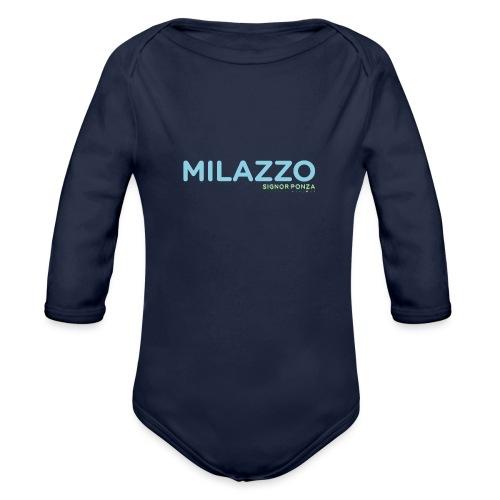 MILAZZO - Body ecologico per neonato a manica lunga