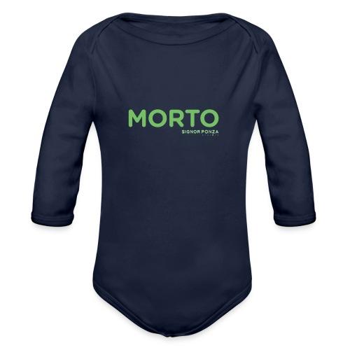 MORTO - Body ecologico per neonato a manica lunga