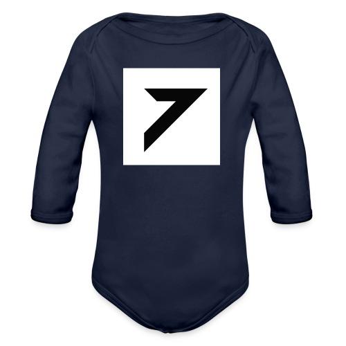 7's BackPack 🎒 - Organic Longsleeve Baby Bodysuit