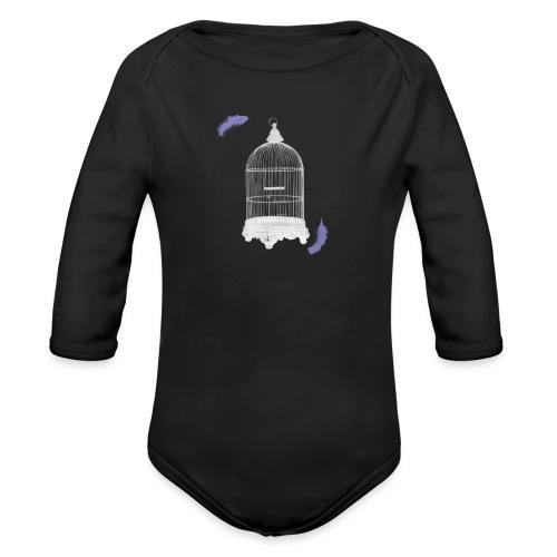 Trapped Inside - Organic Longsleeve Baby Bodysuit