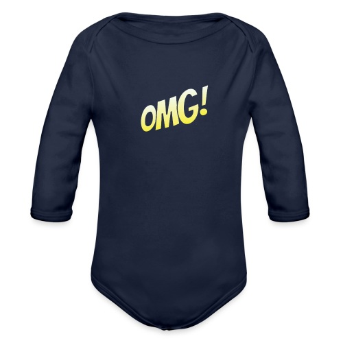 omg - Body Bébé bio manches longues