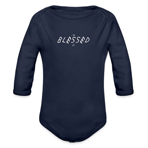 Im blessed af clothing - Vauvan pitkähihainen luomu-body
