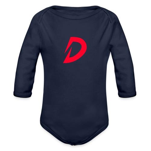 Destra Logo by Atelier render red - Baby bio-rompertje met lange mouwen