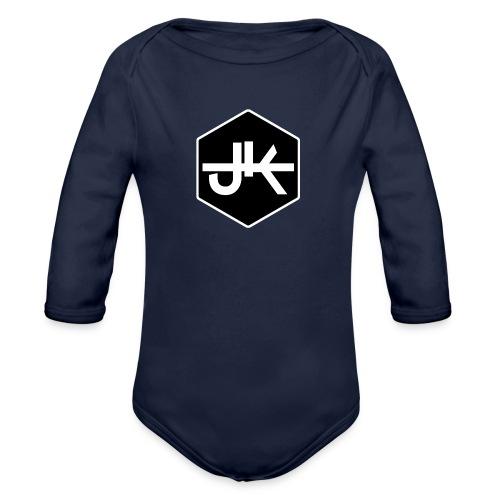 jk logo amk - Baby Bio-Langarm-Body