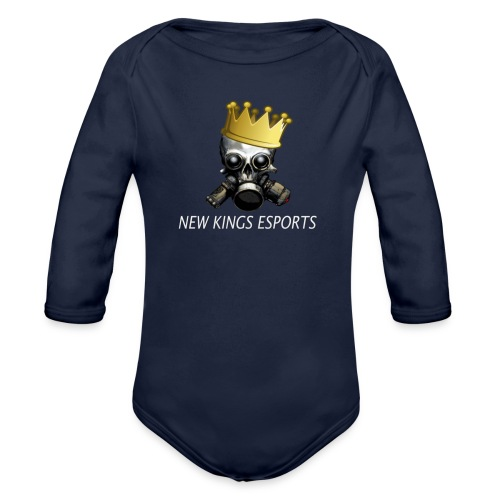 New Kings Esports Logo big - Baby Bio-Langarm-Body
