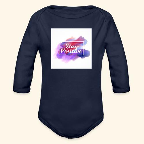 Stay Positive - Body ecologico per neonato a manica lunga