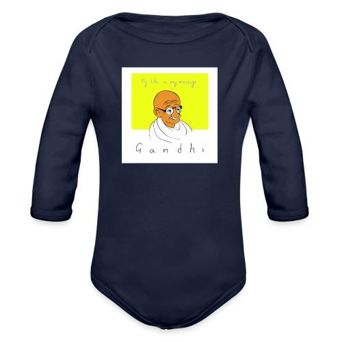 Gandhi - Baby Bio-Langarm-Body