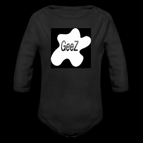 Black/white Art - Organic Longsleeve Baby Bodysuit