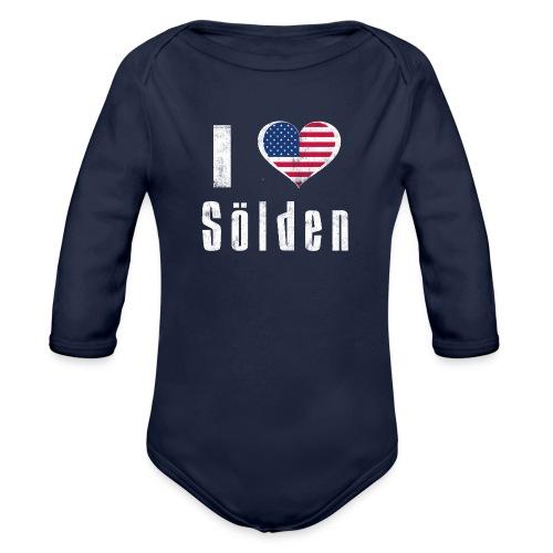 I love Sölden (USA) - Baby Bio-Langarm-Body