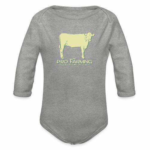 PRO Farming - Body ecologico per neonato a manica lunga
